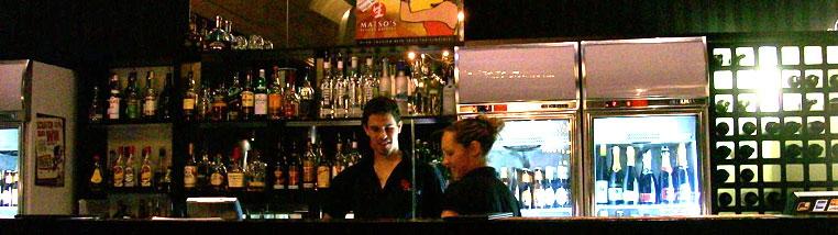 wie man sich an einer Bar anschließt